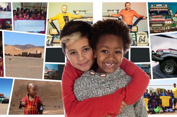 """""""De la copil la copil''- Ghiozdanul copilului tău, poate să bucure un suflet din Africa!"""
